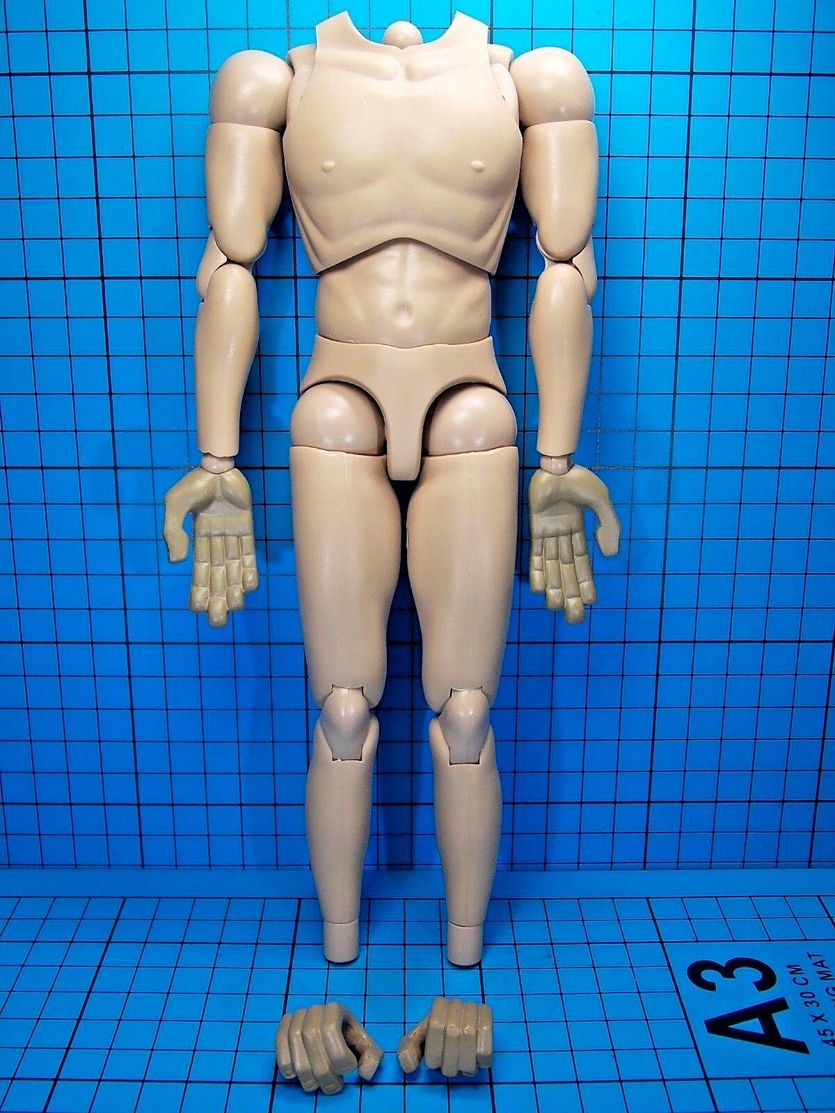 ACI x Jason Siu 1 6 Primates In Concrete Jungle Figure - Brad Muscular Body