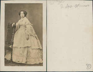 Grande-Duchesse-de-Saxe-Weimar-Sophie-d-039-Orange-Nassau-princesse-des-Pays