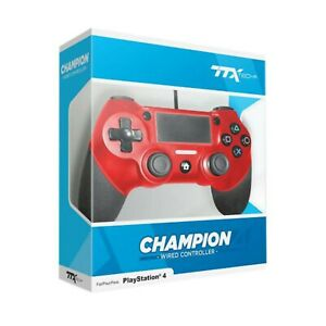 TTX-Champion-PS4-Wired-USB-Controller-for-PlayStation-4-RED