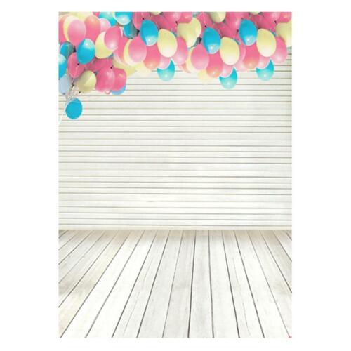 Romantic Balloon Photography Background Art Cloth Studio Backdrops Decor #cz
