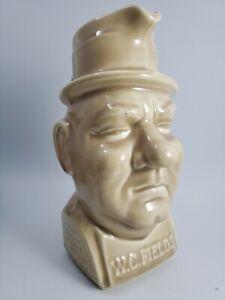Vintage WC Fields Pitcher Mug Kentucky Bourbon Whiskey Turtle Bay Dist Co