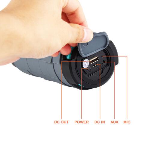 Bluetooth 4.0+EDR  Fashion Stereo Wireless Speaker NFC Outdoor Sports Waterproof