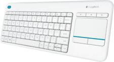 Artikelbild Logitech K400 Plus Wireless Touch kabellose Tastatur Weiss NEU OVP