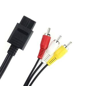 AV-Video-Audio-Cable-Lead-Wires-for-Nintendo-N64-Gamecube-System-NGC-GC