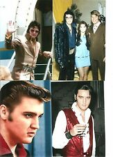 Elvis Presley Ultra-Rare Candid Photo Lot of 16