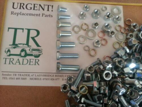 TRIUMPH Stag UNF Dadi /& Bulloni rondelle di circa 400-confezione Workshop Viti