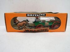 BRITAINS WILD WEST 7617 BUCKBOARD WAGON BOXED  (BS1728)
