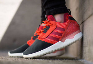 Image is loading Adidas-ZX-8000-Boost-B26368-Solar-Red-Mens-
