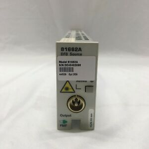 HP-Agilent-81662A-DFB-Laser-Source-Module-Opt-309