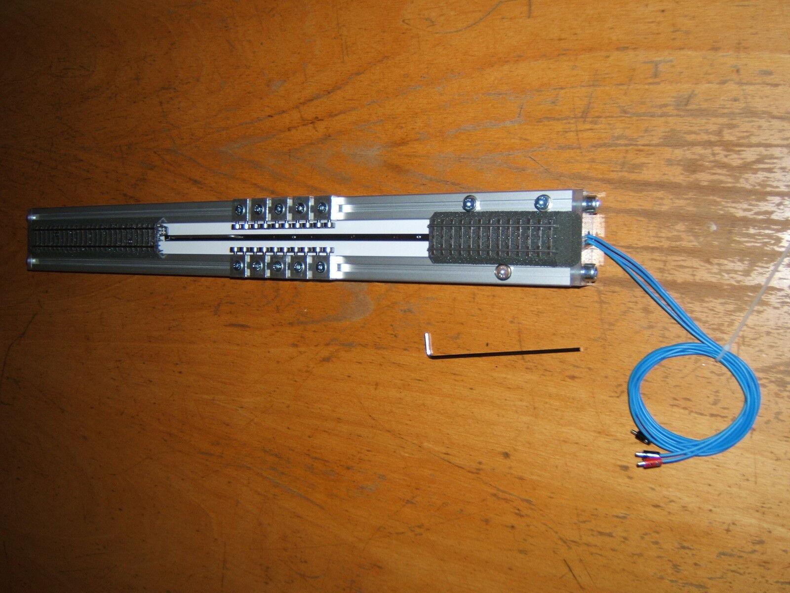 Ruoli banco prova h0 550 mm 5 coppie ruoli AC + DC + Digital