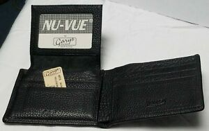 Gary S Leather Wallet Valhalla Black Made In The Usa Top Grain Ebay