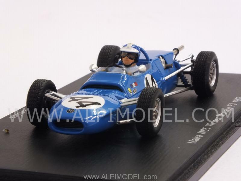 Matra MS5 1966 Winner GP Monaco F3 Jean-Pierre Beltoise 1 43 SPARK S4307