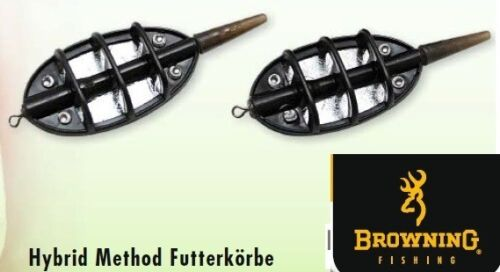 20g, 30g o. 50g Browning Hybrid Method Feeder Futterkörbchen Futterkorb