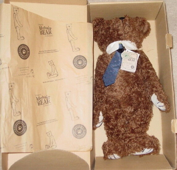 BOYDS MOHAIR BEAR 1998 TRUMAN S. BEARINGTON Teddy Plush NEW in BOX  590010-05