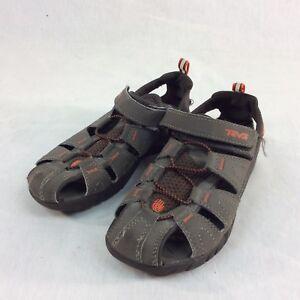 0593413f6d6a Teva Youth Hiking Shoes SZ 3 Waterproof Sandals Unisex Brown Sport ...