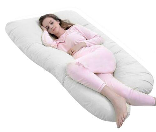 TOTAL BODY COMFORT Pregnancy /& Maternity 12ft U-Shaped Pillow