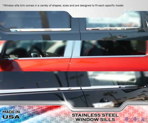 Stainless Steel Window Sill Trims 4PC Fits Jeep Liberty  08-16