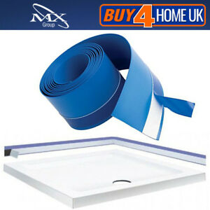 MX-3-8m-Flexi-Seal-Strip-Waterproof-Tape-for-Shower-Tray-amp-Bath-Blue-Upstand