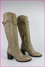 Bottes THE SELLER Cuir Beige T 38 TTBE