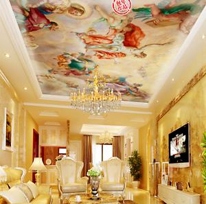 3D Classical Art 73 Ceiling WallPaper Murals Wall Print Decal Deco AJ WALLPAPER