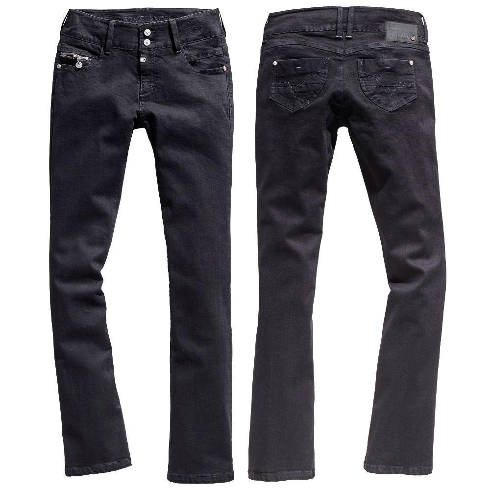 Timezone Damen Stiefelcut Jeans 16-5636 Greta Damenjeans Jeanshose Damenhose Pants