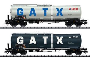 Trix-H0-24213-Kesselwagen-Set-der-GATX-NL-NEU-OVP