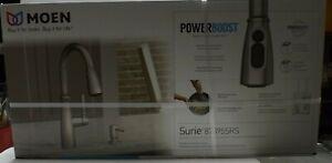 Moen-Surie-Spot-Resist-Stainless-1-Handle-Deck-Mount-Kitchen-Faucet-87395SRS-NEW