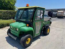 John Deere Gator 4x2 Gas Dump Utility Cart With Cab