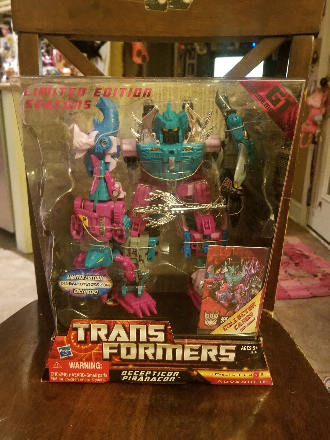 TRANSFORMERS Limited Edition G1 Commemorative BBTS  Exclusive PIRANACON *MISB*