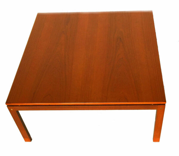 Vintage Mid Century Danish Modern Teak Coffee Table Hans Olsen Denmark Retro Hover To Zoom