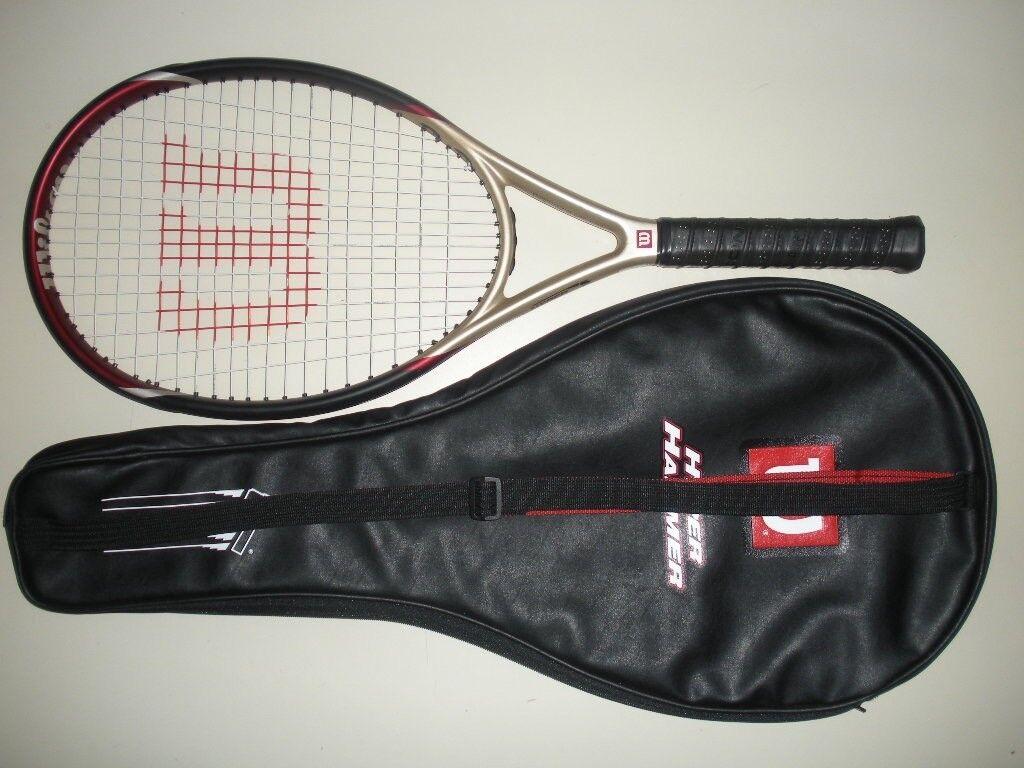 Wilson  Hyper Hammer 3.3 os 115 tenis raqueta 4 5 8 28   estilo clásico