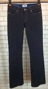 ff7ffb7ad21 Womens Paige Skyline Boot Bootcut Dark Blue Wash Jeans Size 27 Boot ...