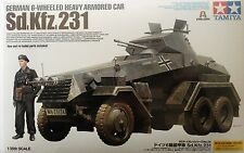 Tamiya German 6-Wheeled Sd.Kfz.231 - Heavy Armored Car Plastic model kit 1/35
