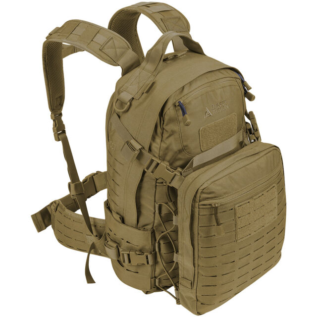 f79567e327a Direct Action Ghost Mk2 Backpack 31.5L Trekking Webbing Paintball Coyote  Brown
