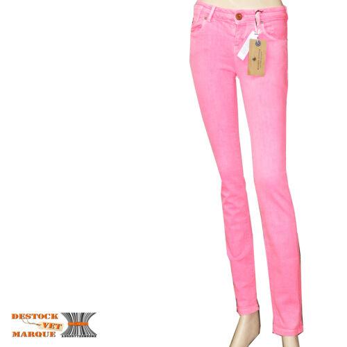 Femme Rose Stretch Fluo La Jeans Maison Parisienne Scotch Slim Skinny OPz7wIqF