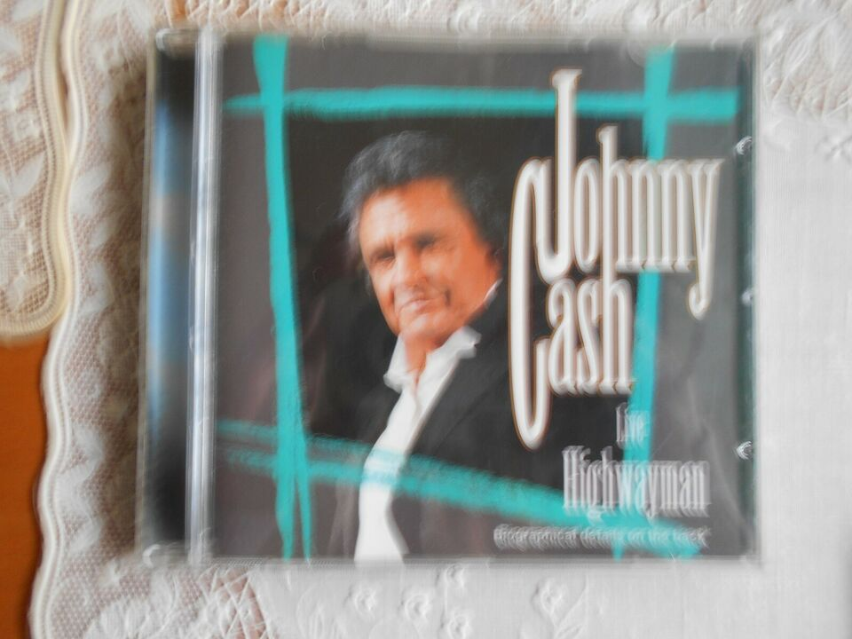 johnny cash: div, kr. 40 stk, country