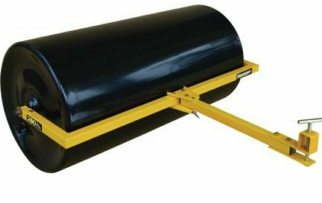 Tow Behind Steel Lawn Roller 17x36 230LB Sod Seed Rut Dirt Compactor Tractor ATV