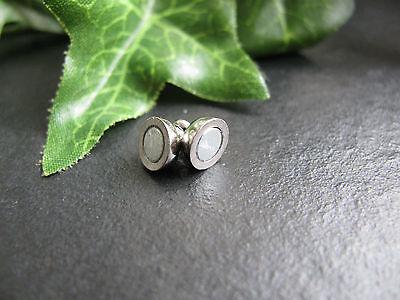 3 Magnetverschlüsse, silberfarben 6mm, Schmuck mit Perlen basteln, Verschluss