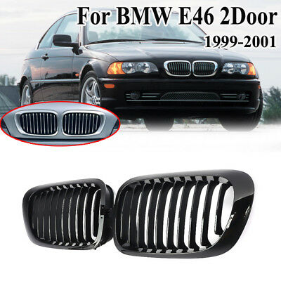 Front Kidney Grille Grill For BMW E46 3-Series 2D Coupe Cabriolet 2002-2006 2004