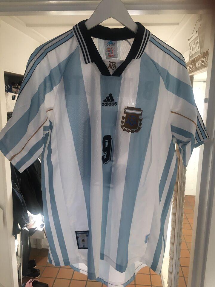 Fodboldtrøje, str. Medium til xxl.