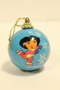 DORA THE EXPLORER - BLUE CHRISTMAS BALL ORNAMENT, DORA ...