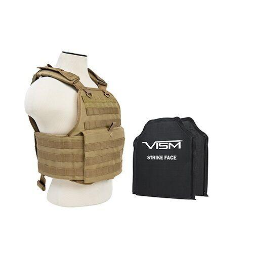VISM BSCVPCV2924T-A BODY ARMOR  STANDARD BALLISTIC PLATE CARRIER 10X12 SOFT PANEL  great offers