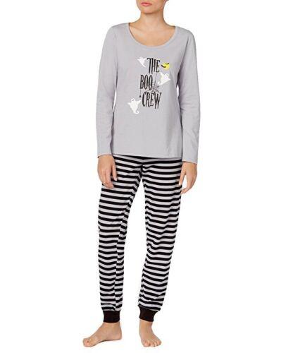 Family Pajamas Womens Boo Crew Knit Pajama S Boo Crew M
