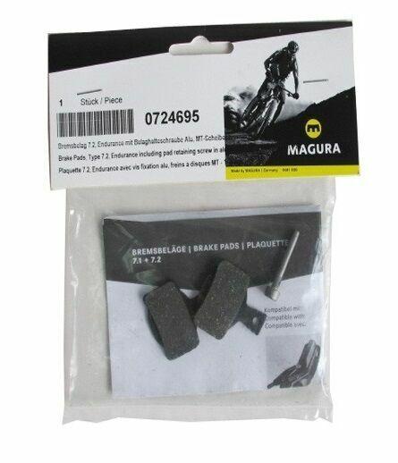 Magura Disc Brake Pads 7.C Comfort FOR 2 Pistons Calipers