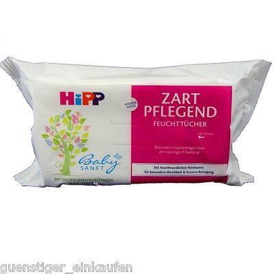 Hipp Feuchttücher Zart Pflegend Reisegröße Handtaschengröße 10 Tücher Reise