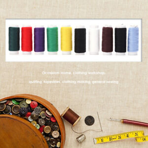 10pcs-set-90m-Cotton-Embroidery-Sewing-Threads-DIY-Needlework-Quilting-Tools