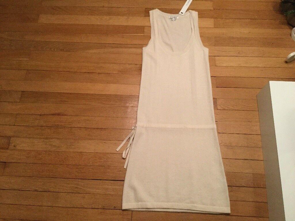 Magnifique robe débardeur NS CASHMERE T.S 100