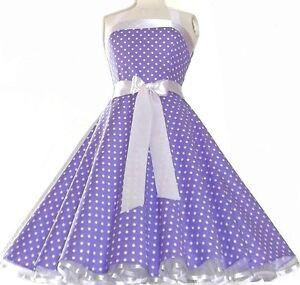 Süßes Rockabilly50er,Abend,Party,Tanz,Petticoat Kleid,Gr ...