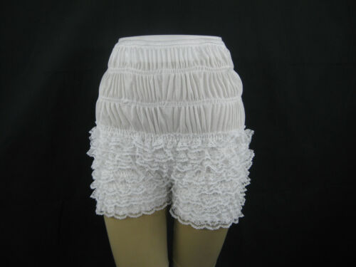 Square Dance Pettipants S-XL Polyester Ruffle Lace Sissy Steampunk Bloomers NEW