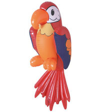 INFLATABLE PARROT 60cm Blow-up for Tropical Bird Animal Novelty Swimming